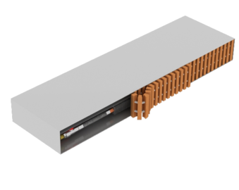 TRENCH HEATER FCFP CONVECTOR