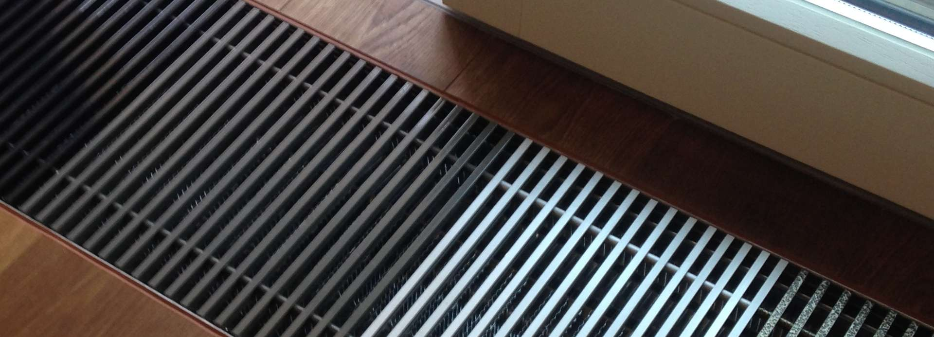 Under-floor convector FanCoil - the right approach to the choice of the heating system!